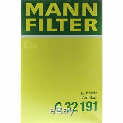 7L Mannol 5W-30 Break Ll + Mann Filtre Luft Filtre VW Transporter V Bus 2.0