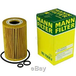 8L Mannol 5W-30 Break Ll + Mann-Filter Filtre VW Transporter V Bus 2.0 Tdi