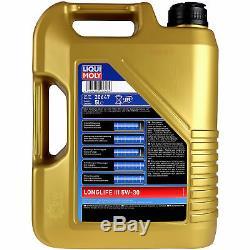 Filtre Set Kit +5W30 huile moteur Pour VW Transporter V Bus De 7HB 7HJ 7EB