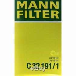 Huile Moteur 6L Mannol Diesel Tdi 5W-30 + Mann-Filter VW Transporter V Bus