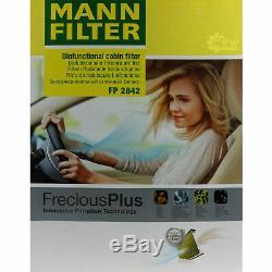 Huile Moteur 6L Mannol Diesel Tdi 5W-30 + Mann VW Transporter V Bus de 2.0 TSI
