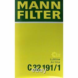 Huile moteur 6L MANNOL Diesel TDI 5W-30+MANN-FILTER VW Transporter V Bus 2.0