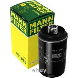 Huile moteur 6L MANNOL Diesel Tdi 5W-30 + Mann-Filter VW Transporteur V Bus 2.0