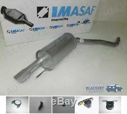 Imasaf Silencieux Pour VW T4 2.0+2.5+2.8 VR6 Bus/Multivan/ Caravelle Bj 96-03
