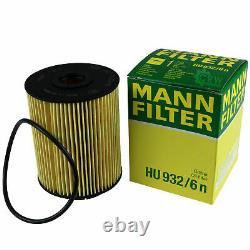 Inspection Set Filtre Kit 5W30 huile moteur Pour VW Transporter V Bus De 7HB