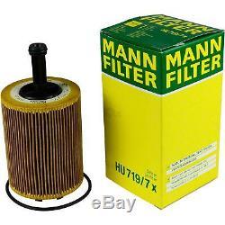 Liqui Moly 6L Toptec 4100 5W-40 Huile + Mann-Filter pour VW Transporter V Bus