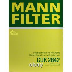 MANNOL 6L Extreme 5W-40 huile moteur + Mann-Filter VW Transporter V de Bus 7HB