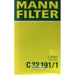MANNOL 6L Nano Tech 10W-40 Huile moteur + MAN-FILTER pour VW Transporter V Bus