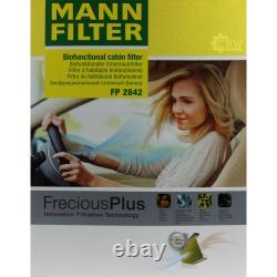 MANNOL 7 L Energy Premium 5W-30 + Mann-Filter pour VW Transporter V Bus 7HB 1.9