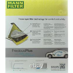 MANN-FILTER Inspection Set De Pour VW Transporter V Bus 7HB 7HJ 7EB