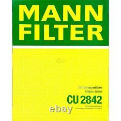 MANN-FILTER Inspection Set Ensemble Pour VW Transporter V Bus 7HB 7HJ 7EB