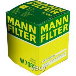 Mannol 7 L Energy Premium 5W-30 + Mann-Filter VW Transporter VI Bus 2.0 Tdi