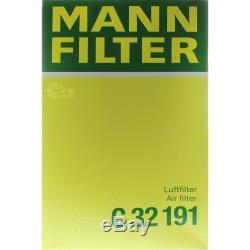 Mannol 7 L Energy Premium 5W-30 + Mann-Filter VW Transporter V Bus 7HB 3.2 V6