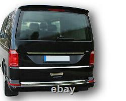 Noir Peint Spoiler de Toit Pour VW Bus T6 Facelift Transporteur Multivan De 2015