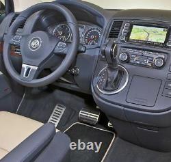 Original VW Pédale + Repose-Pied Cache-Pédales Pour VW T5 T6 V VI + Multivan/Bus