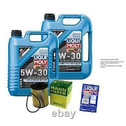 Révision Filtre LIQUI MOLY Huile 10L 5W-30 Pour VW Transporteur IV Bus