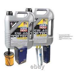 Sketch D'Inspection Filtre Liqui Moly Huile 10L 5W-40 Pour VW Transporter V Bus