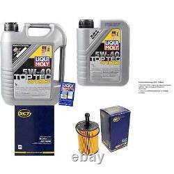 Sketch D'Inspection Filtre Liqui Moly Huile 6L 5W-40 Pour VW Transporter V Bus