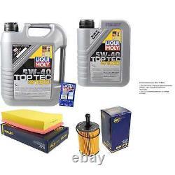 Sketch D'Inspection Filtre Liqui Moly Huile 6L 5W-40 Pour VW Transporteur V Bus