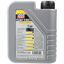 Sketch D'Inspection Filtre Liqui Moly Huile 8L 5W-40 Pour VW Transporter VI Bus
