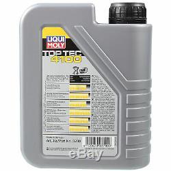Sketch D'Inspection Filtre Liqui Moly Huile 8L 5W-40 Pour VW Transporter V Bus