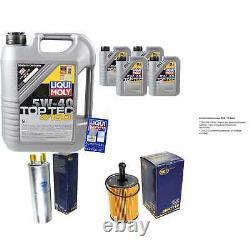 Sketch D'Inspection Filtre Liqui Moly Huile 9L 5W-40 Pour VW Transporter V Bus