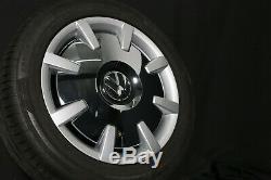 VW 18 Roues en Alliage Pouces Bus Multivan Cali T6 Disque Jantes Pneus D'Été D