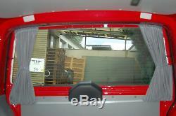 VW T4 Multivan Transporter Caravelle Mesure Rideaux Bus Rideaux 10-teilig Stores