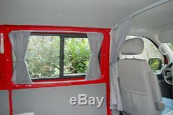 VW T4 Multivan Transporter Caravelle Mesure Voiture Rideaux Bus Accessoires Neuf