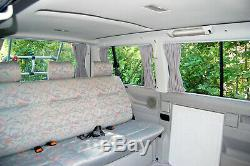 VW T4 Multivan Transporter Mesure Voiture Rideaux Bus Rideaux Brise-Vue Baimex