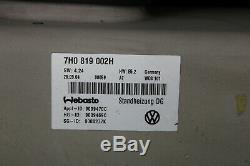 VW T5 Chauffage Chauffage Webasto Air Top 3500 St Multivan Bus 7H0819002H