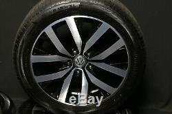 VW T6 Bus Multivan Cali 18 Roues en Alliage Pouces Toluca Jantes Pneus D'Été D